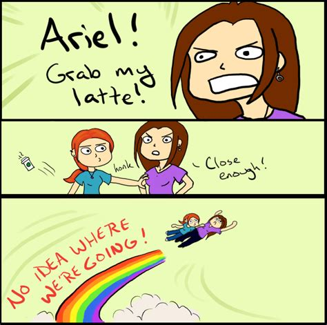 Ariel Meme - ariel grab my meme by octoberspirited on deviantart