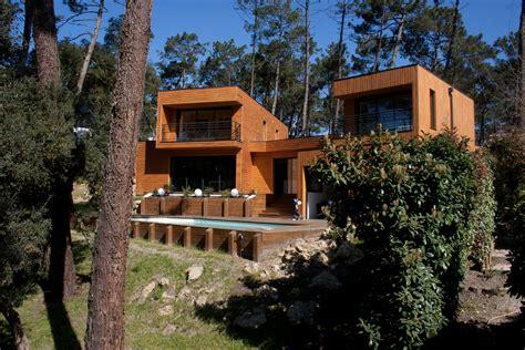 maison bois contemporaine dans les landes architecture bois