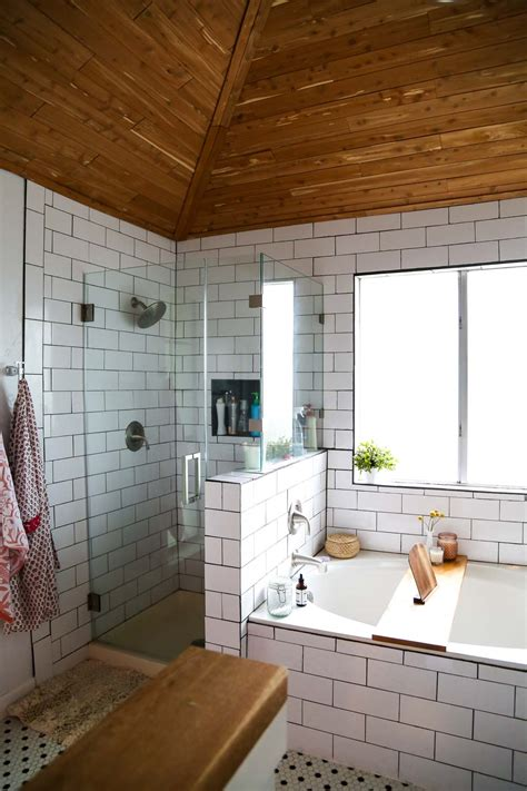 My Magical Ceiling And Floor Makeover by Before After A Master Bath Gets A Bright Makeover In
