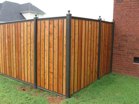 A Bit Nicer Looking Privacy Fence Option