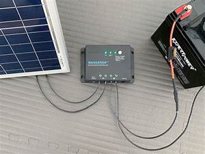 Connect Solar Panel To Charge Controller  3 Steps  W