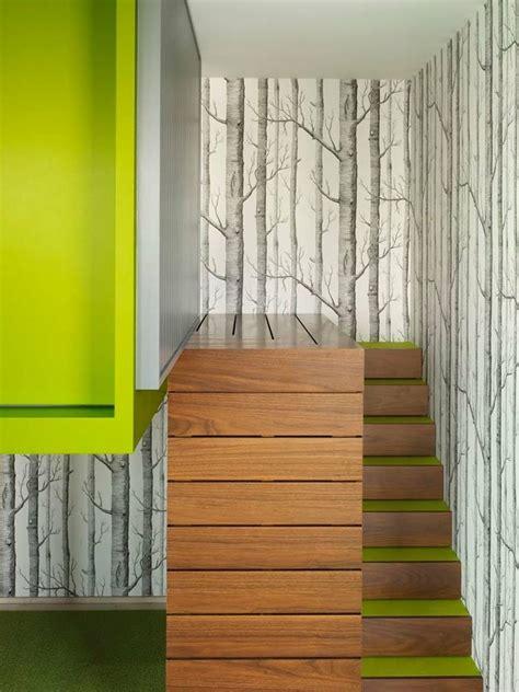 papier peint pour cage escalier d 233 co cage escalier 50 int 233 rieurs modernes et contemporains ideeco