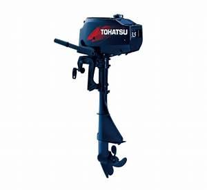 3 5hp Two Stroke Short Shaft Tohatsu Outboard