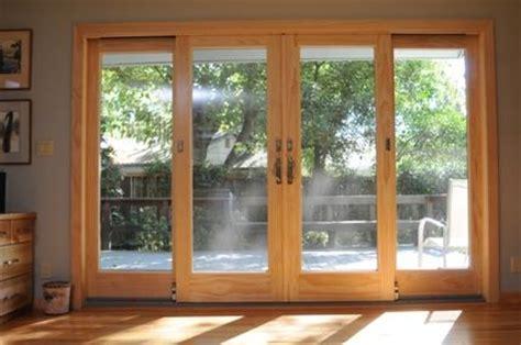 andersen  panel frenchwood gliding patio door patio