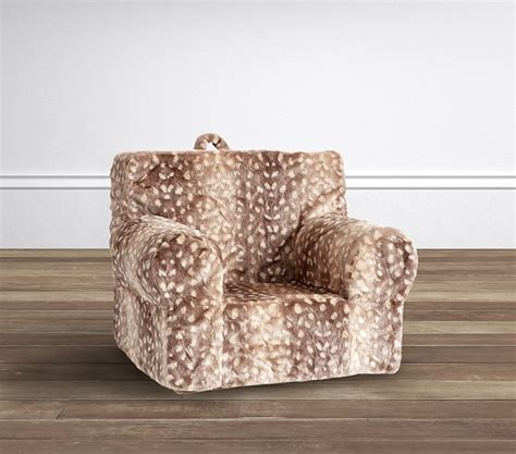 Pottery Barn Anywhere Chair Slipcover by Fawn Faux Fur My Anywhere Chair 174 Slipcover Only