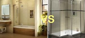 Salle De Bain Douche Baignoire : r novation salle de bain douche ou baignoire ~ Melissatoandfro.com Idées de Décoration