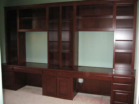 desk with cabinets built in custom home office cabinets and built in desks