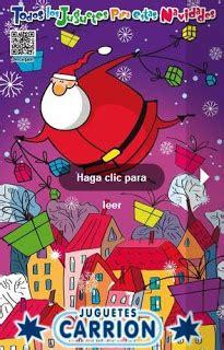catalogo de juguetes carrion navidad
