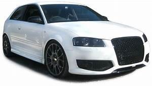 Calandre Audi A1 : grille calandre audi a3 8p nid d 39 abeille look rs3 auto prestige ~ Farleysfitness.com Idées de Décoration