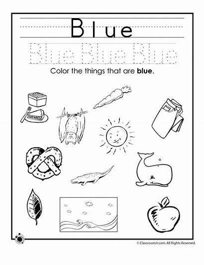Colors Worksheets Learning Preschoolers Activities