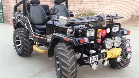 indian army jeep modified open modified jeeps for sale youtube