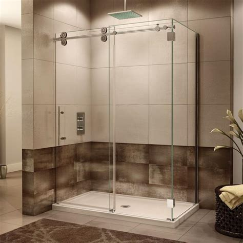 Fleurco Kinetik Two Sided KT Shower Door, Closes Against