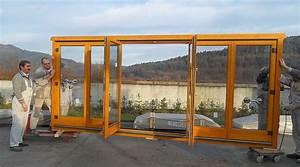 Wochenendhäuser Aus Holz : verglaste faltt r aus holz f r wochenendh user ~ Frokenaadalensverden.com Haus und Dekorationen