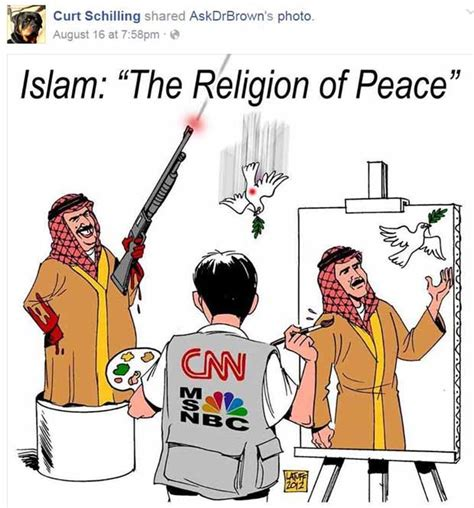 Religion Of Peace Meme - the top 10 posts and memes on curt schilling s facebook page