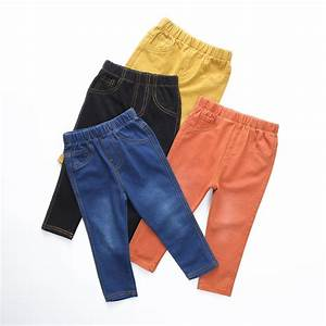 VIDMID 1 6Y Children Jeans Boys Denim trousers Baby Girls Jeans Top Quality Casual pants kids ...