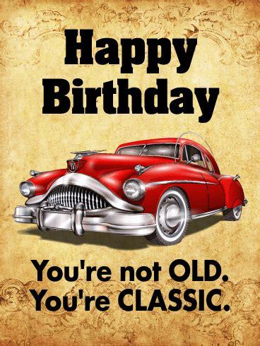 classic funny birthday card birthday