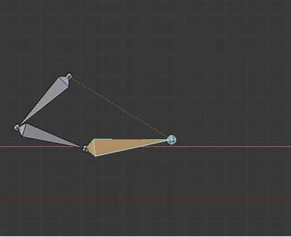 Kinematics Armature Cross Center Inverse Pushable Shaped