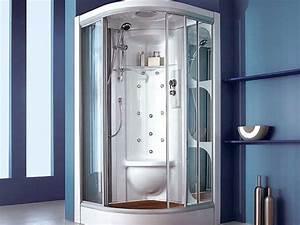 cabine douches cabine douche sur enperdresonlapin With carrelage adhesif salle de bain avec cabine de douche leda avis
