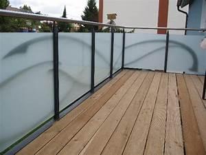 Milchglas Für Balkon : anspruchsvolle und individuelle balkone balkongel nder ~ Markanthonyermac.com Haus und Dekorationen