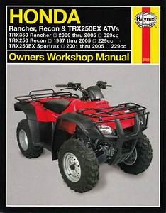Honda Rancher  Recon  Trx250ex Atvs 1997