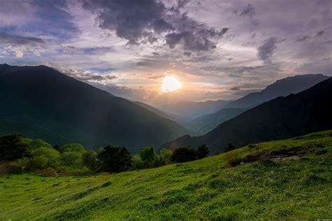 magnificent mountain landscape photography