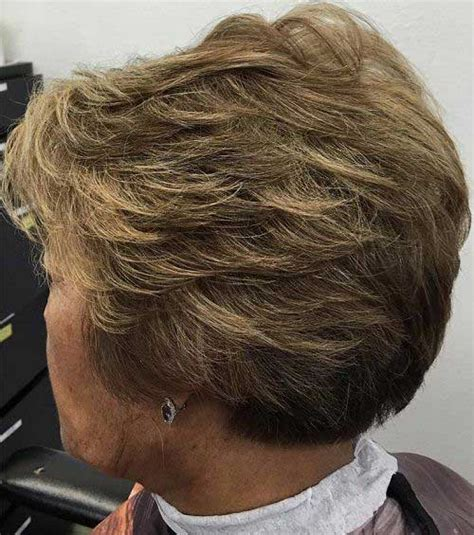 easy and stylish short haircuts for older ladies short