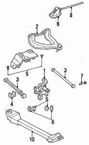 Dodge Stratus Bolt  Arm  Control   Rear  Lower