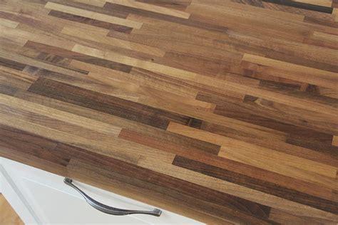 Arbeitsplatte  Küchenarbeitsplatte Nussbaum Fineline 40