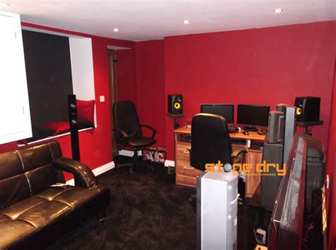basement home recording studios stone dry bespoke