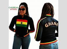 Ghana Flag Jacket – CARIBBEAN APPAREL™