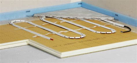 comment poser un plancher chauffant electrique de conception de maison