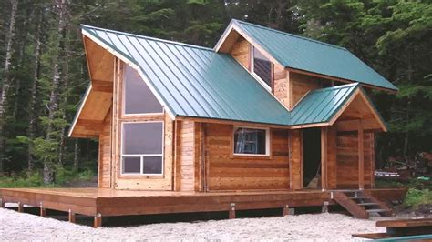 Small Cabin Plans With Loft And Porch (see description