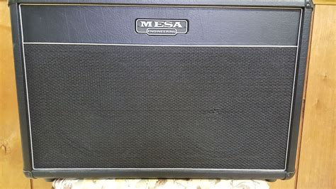 mesa boogie 2x12 lone cabinet reverb
