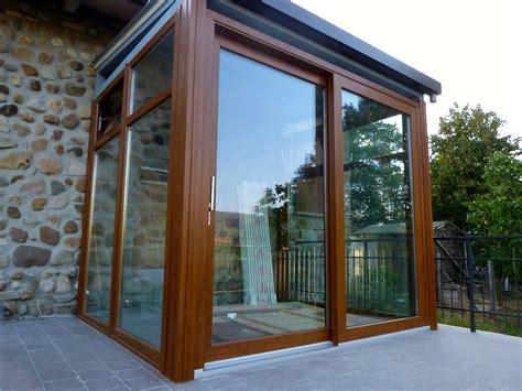 verande da esterno vetri scorrevoli per esterni verande chiuse con vetrate