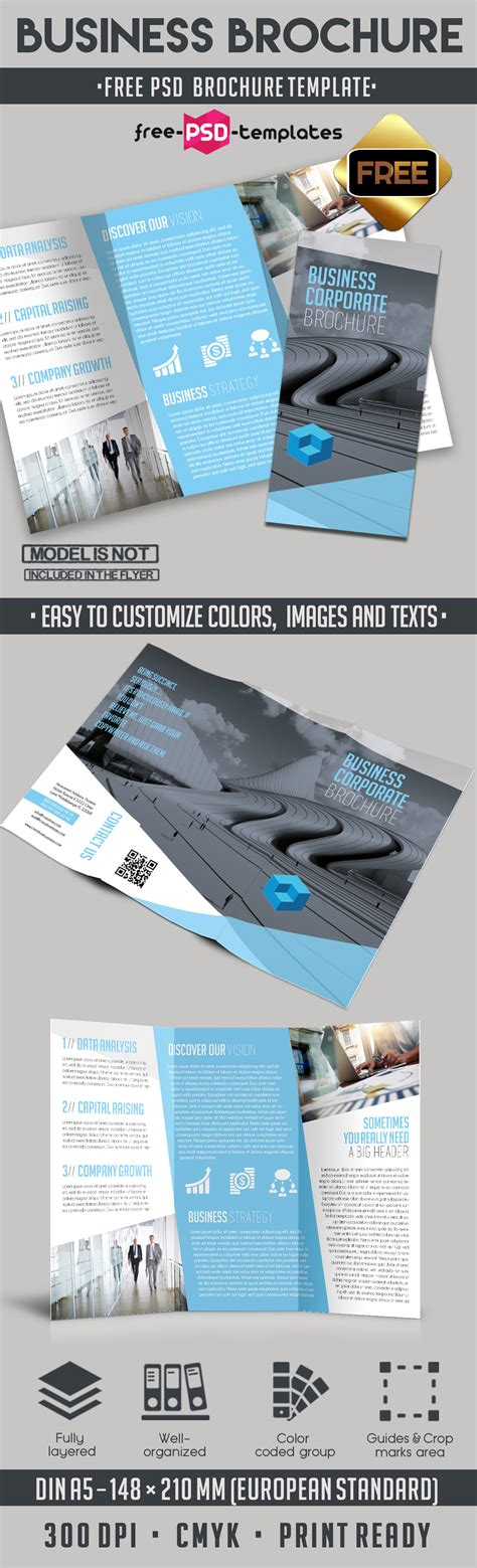 Business Brochure Template by Business Free Tri Fold Brochure Template Free Psd Templates