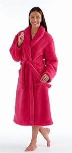 enchanteur robe de chambre femme polaire longue avec de With robe de chambre pour femme en polaire