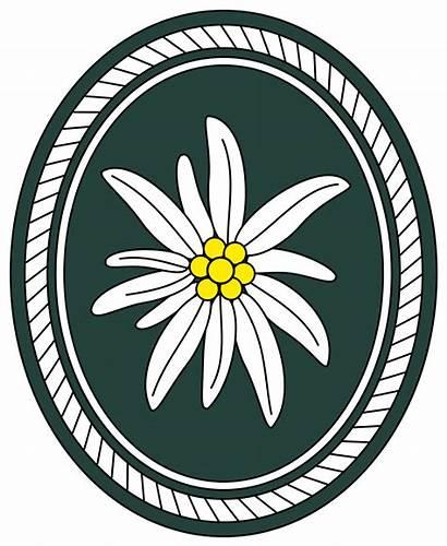 Bundeswehr Division Mountain Gebirgsdivision 1st Svg Clipart