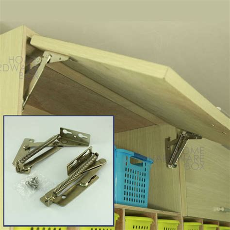 kitchen cabinet lift up flap hinges pair of cabinet door lift up flap top support 9122