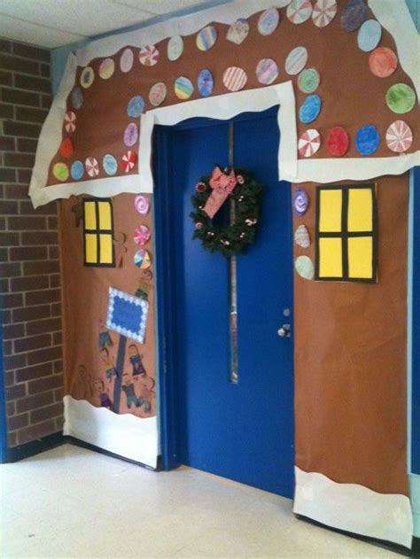 christmas door decorations school church environments