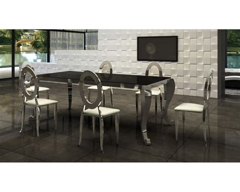 table chaise salle a manger table salle a manger ronde blanche maison boncolac