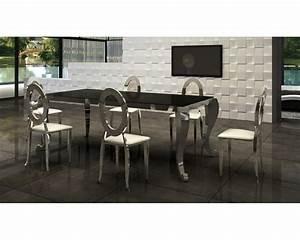 Chaise Table A Manger : table et chaise salle a manger table bar cuisine maison boncolac ~ Teatrodelosmanantiales.com Idées de Décoration