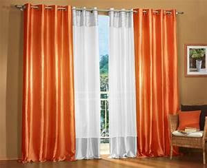 ösen Gardinen Weiß : sen gardinen set 20330 orange 245x140 20331 wei 245x140 ebay ~ Whattoseeinmadrid.com Haus und Dekorationen