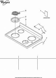 Whirlpool Range Rf263lxtq3 User Guide
