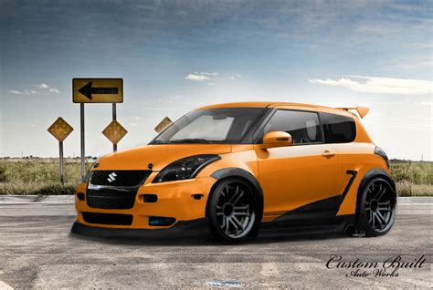 Custom Suzuki Swift Hd Cars Photos And Wallpapers Picture