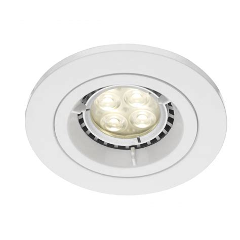 apache low energy or led white insulated recessed