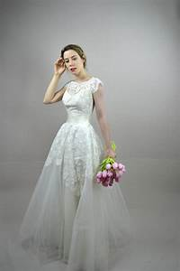 50s wedding dress vintage 1950s wedding dress briella With vintage 50s wedding dresses