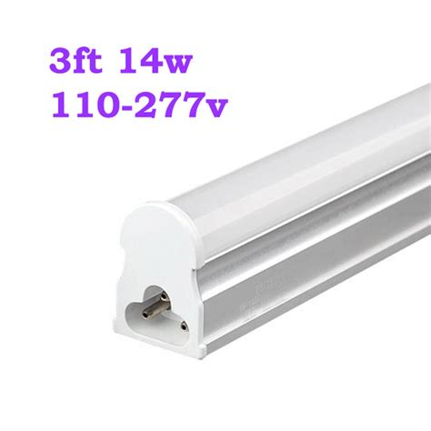 25pcs 14w 3ft ac 110v 277v t5 led fluorescent replacement