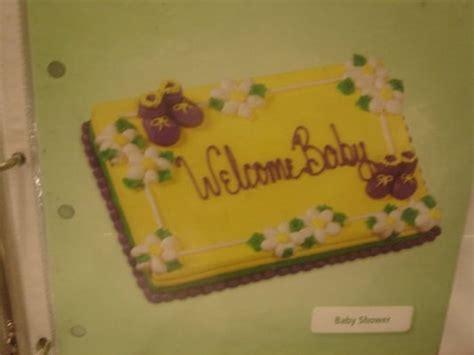 safeway baby shower cakes safeway cake book