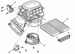 2002 Honda S2000 Heater Blower Replace Diagram