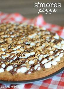 S'mores Pizza – Six Sisters' Stuff
